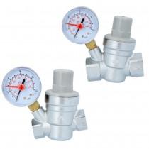 Wasserdruckminderer mit Manometer
